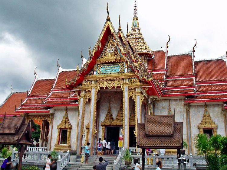 Wat Chalong Architecture Architecture Built Structure Cultures Outdoors Phuket Religion Spirituality Temple Thailand Tourism Travel Destinations WatChalong Wat Chalong Phuket Thailand