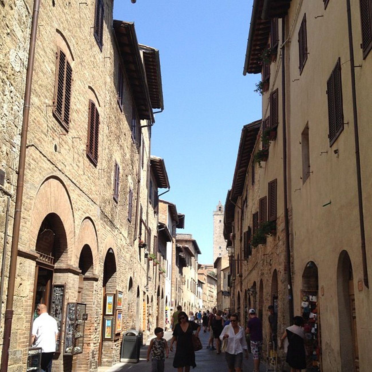 Tuscany Toscana Sangiminiano Summer
