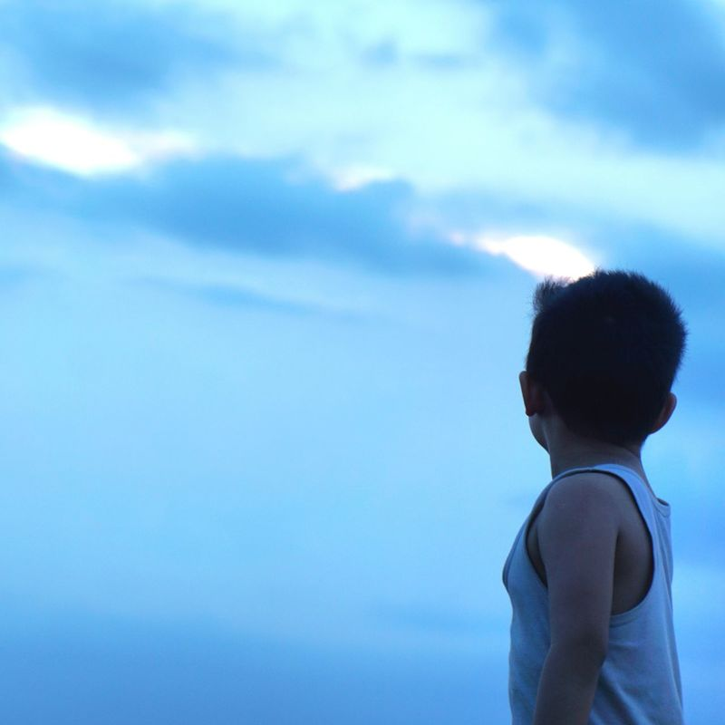 Littel boy and the sundow sky!! Littel Boy , Hometown Love My Nephew Family Love  Sundown Skylover Kidsphotography