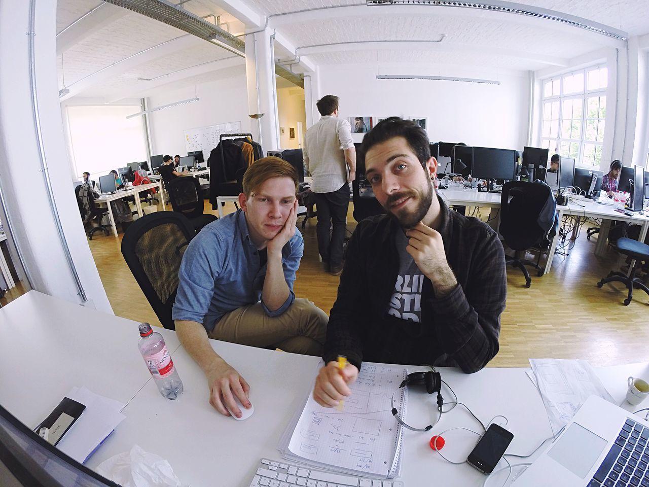Testing Gopro Startup Office Working