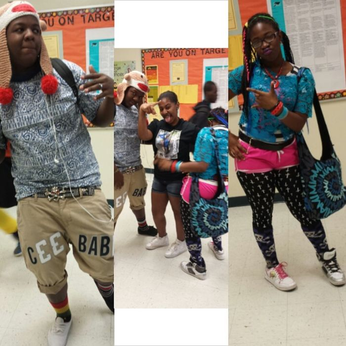 Taking Photos Sprit Week! WACKY TACKY DAY!!!