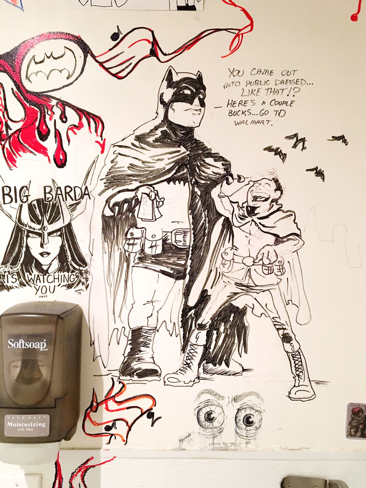 Big Barda Batman And Robin Batman Robin Fantom Comics Fantom Dc Check This Out Hanging Out DC Comics Taking Photos Enjoying Life Showcase April DupontCircle Check This Out Graffiti Illumination Illustration Comic Art