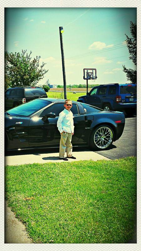his future ride...zr1 corvette