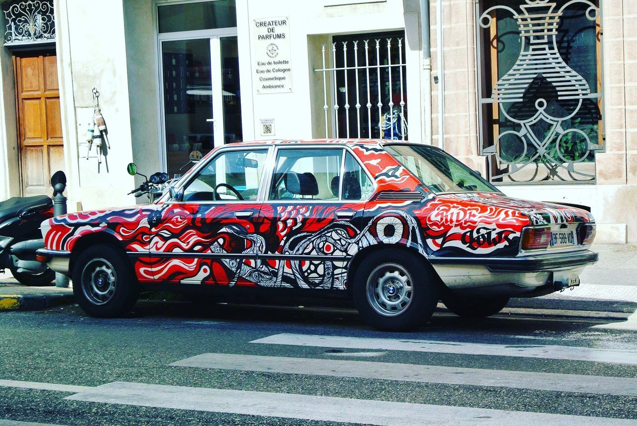 Marseille France Cars Vintage Cars Classic Car Art ArtWork Artistic Street Art Art Cars