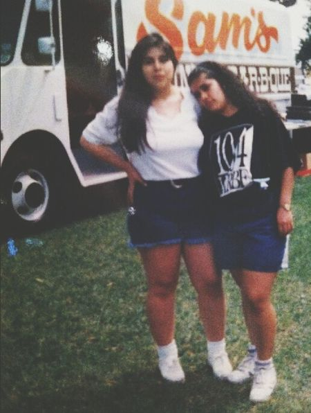 Tia <33 on left mom <33 on right