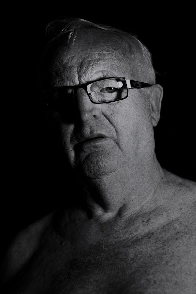 Mature man in monochrome [1] Portrait Mature Pensioner Face Thoughtful Monochrome Attitude Man