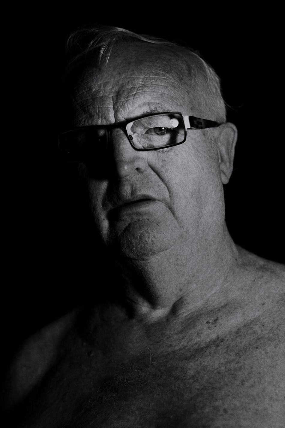 Mature man in monochrome [1] Portrait Mature Pensioner Face Thoughtful Monochrome Attitude Man
