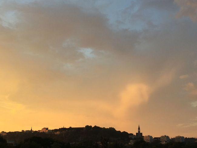 Angoulême a chaud, très chaud ☀️ Ville City CIELFIE Ciel Sky