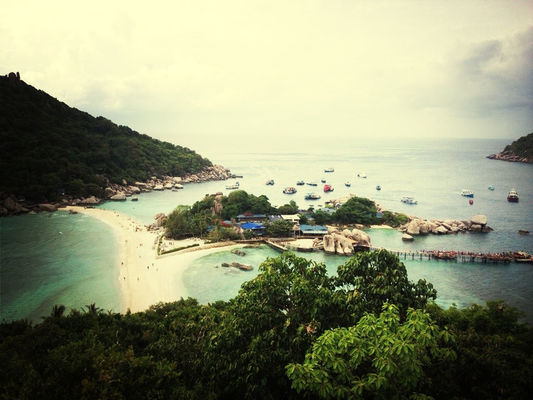 Hanging out at Koh Tao by Ksay Thanakom