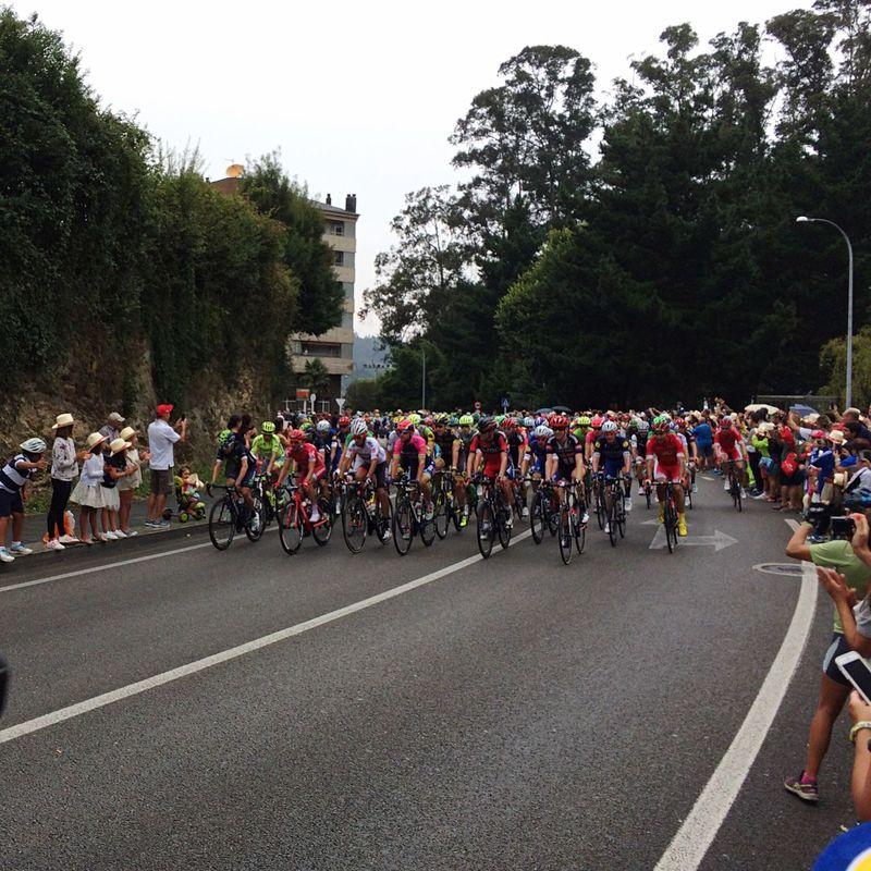 Vuelta Ciclista España Viveiro