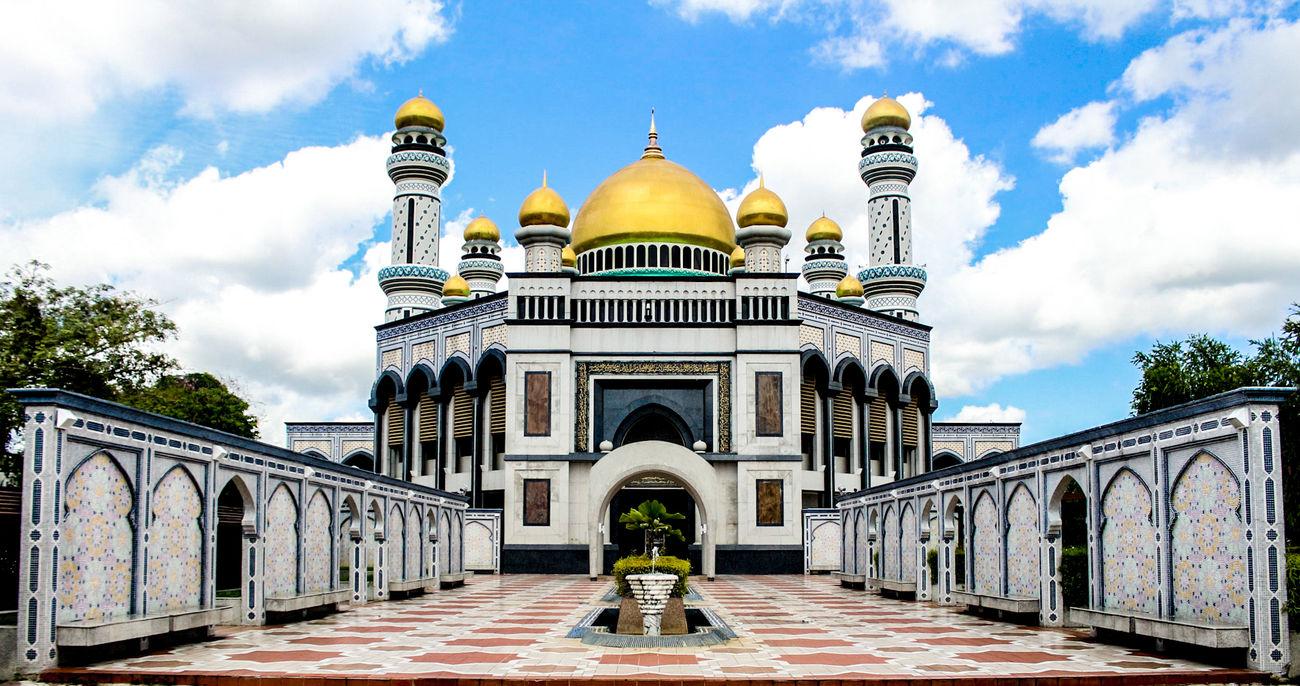 Jame'Asr Hassanil Bolkiah Mosque Architecture Islamic Architecture Religion Travel Destinations Brunei Darussalam