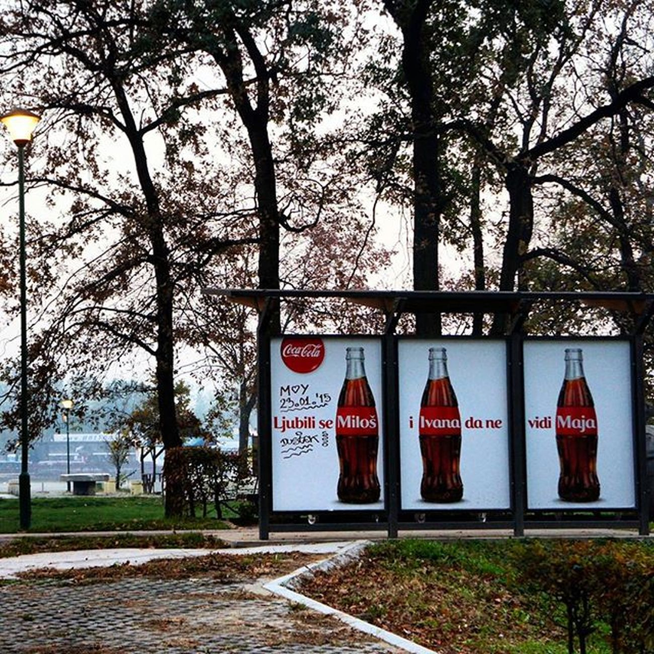 Serbia Belgrad Nature Cocacola Advertising Marketing Love Story Ig_bgd Ig_belgrade Instagramsrbija Ig_srpska Lifestyleserbia Vscocam