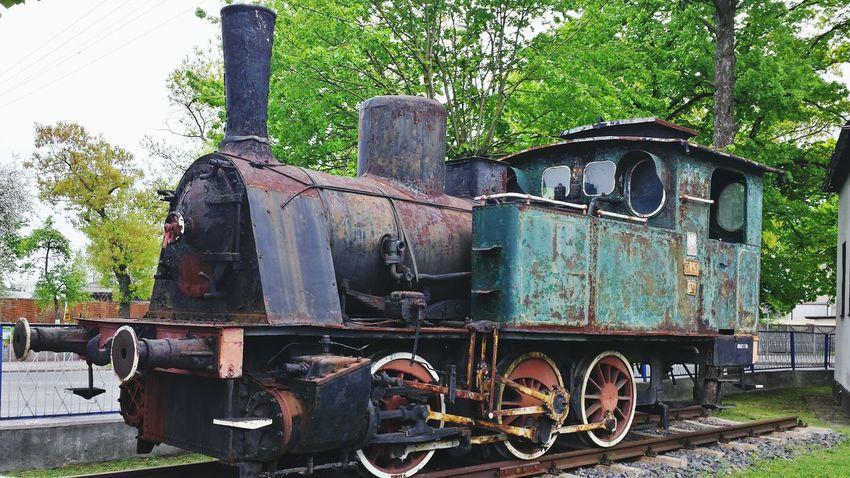 Traintracks Eyemphotos Smartphonephotography Czerwiensk Choo Choo Train Abondoned