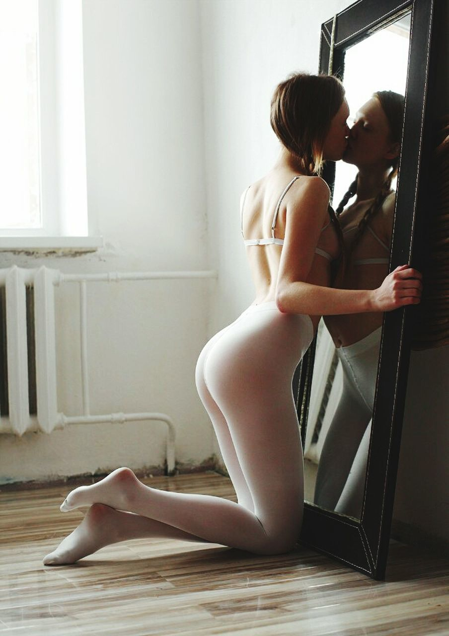 indoors, one person, full length, window, ballet, young adult, ballet dancer, real people, skill, beauty, young women, beautiful woman, day, adult, people