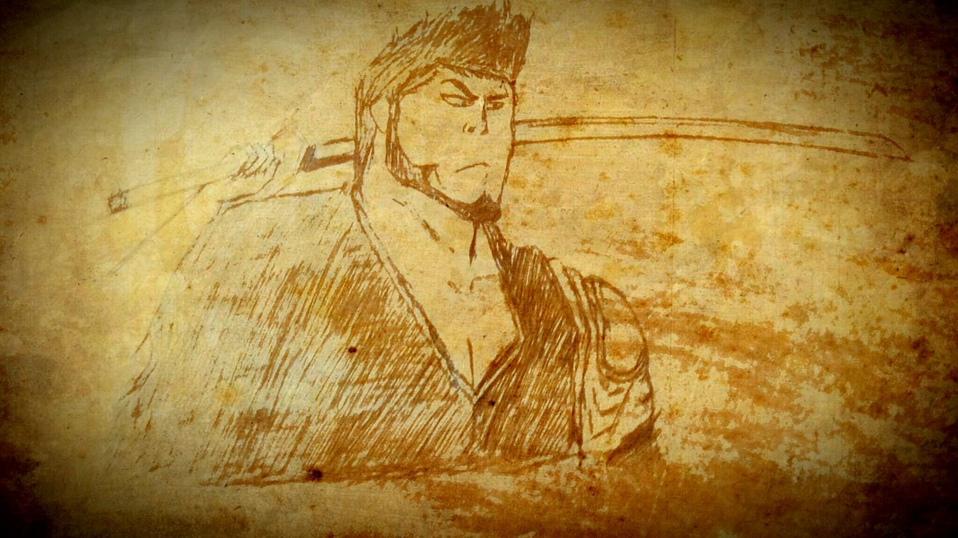 Bleach Anime Isshin Kurosaki Kurosaki Class Art Bench Drawing Sketch Hobby NITK