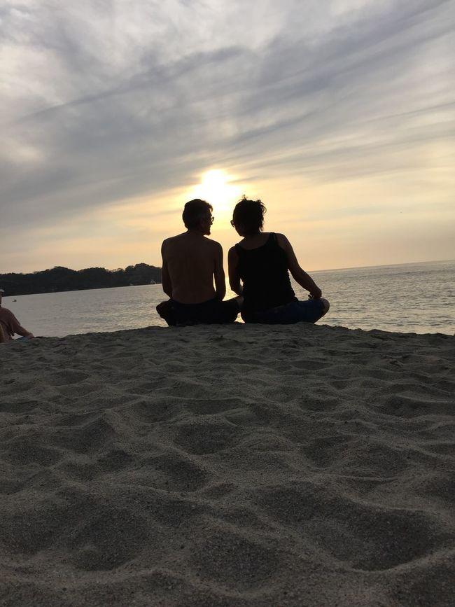Atardecer en Playa Malpaso, Sayulita Enjoying The Sun