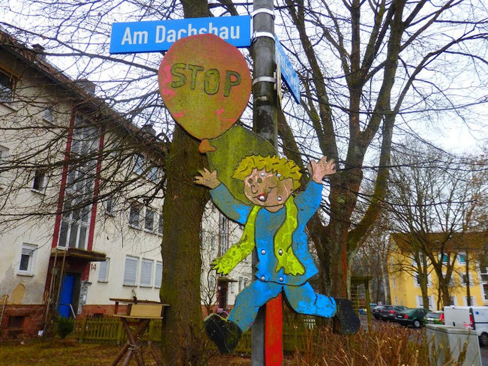 Childhood Dontstop Traffic Sign Verkehrszeichen