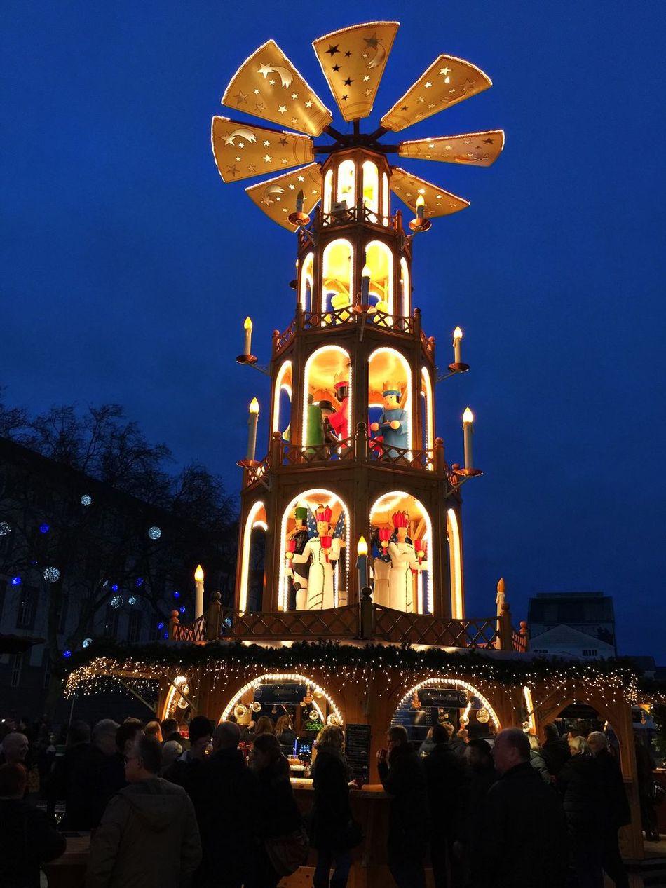 Christmasmarket @duisburg Duisburg | Germany Christmas Lights Evening People Bar Christmas Spirit