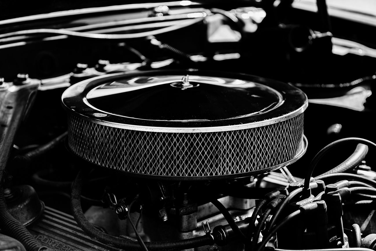 Pure power ... Big Block Black Black And White Blackandwhite Capture The Moment Cars Chrome Driving Engine Eye4photography  Filter Germany Grey Monochrome Monochrome Photography No People Old Power Sigma 60mm Art Sony Sony A6000 Technology US Cars USA V8