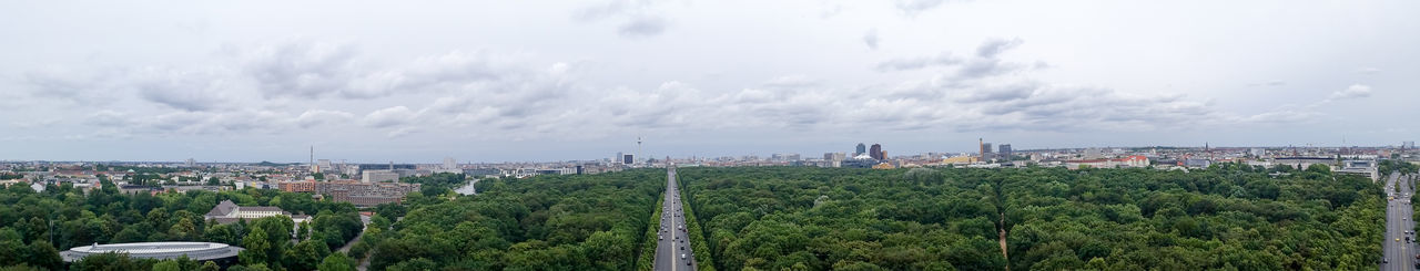 This photo was taken, from the top of the Siegessäule. Berlin Brandenburger Tor City Cityscape Cloud - Sky Day Forest From Above  Growth Nature Nature And City Outdoors Panorama Schloss Bellevue Siegessäule  Sky Skyscraper Top Down Travel Destinations Tree Urban Skyline Capture Berlin