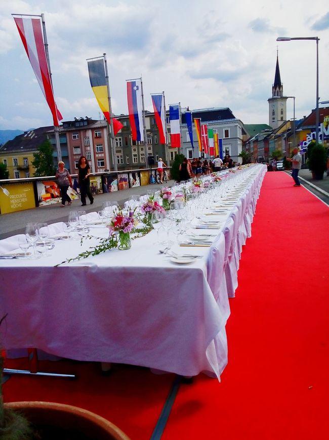 Whitetable Flowers Food Bridge Flags Austria ❤ Villach