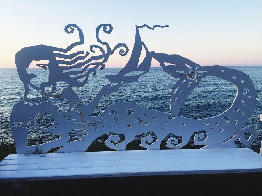 Crete Greece Mermaid Sea Water Outdoors