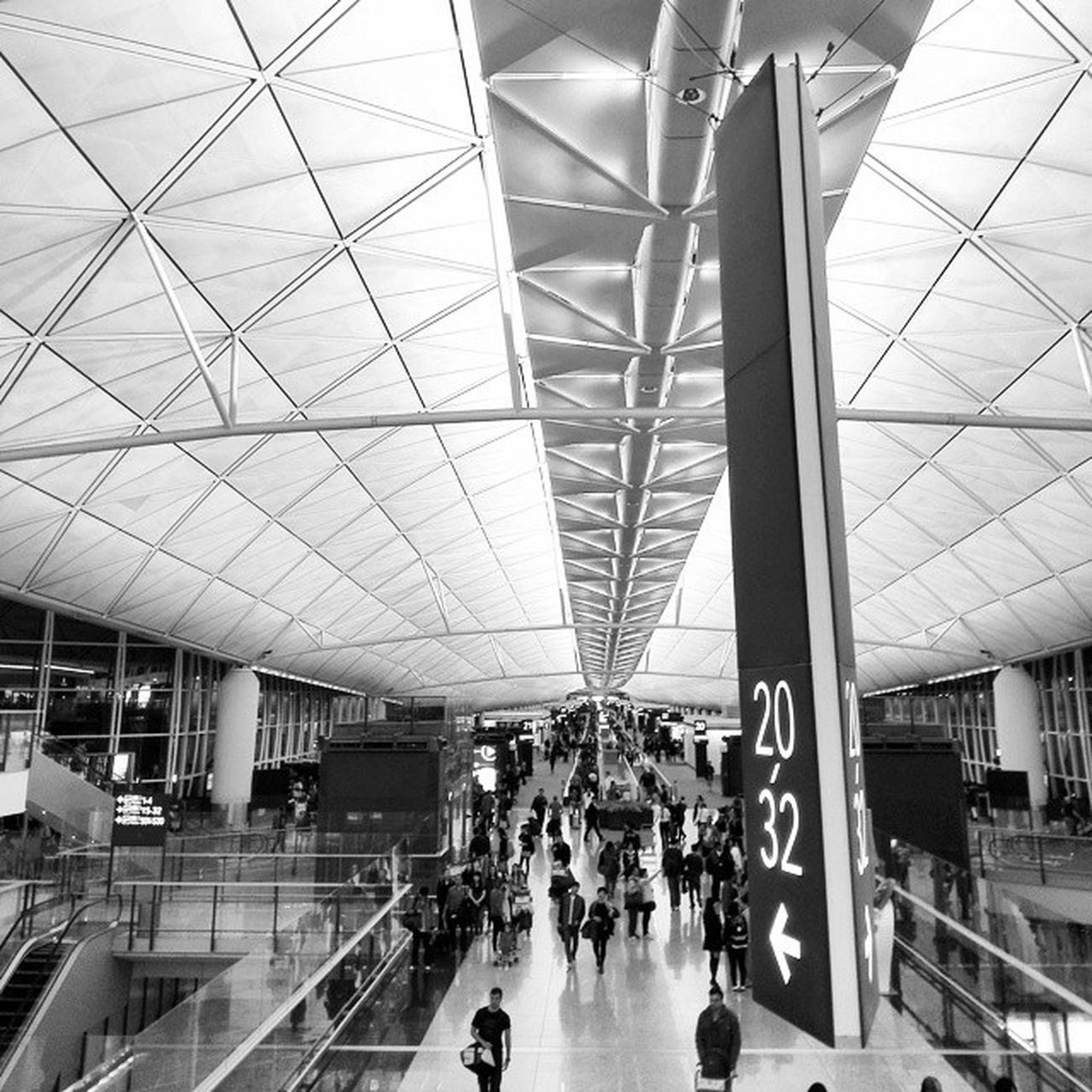 HongKongInternacionalAirport HongKong Bw