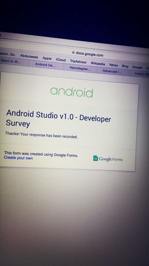 Took part in survey ???. Taking Survey Eyeem Nepal Sloppy Sho Android Studio V1