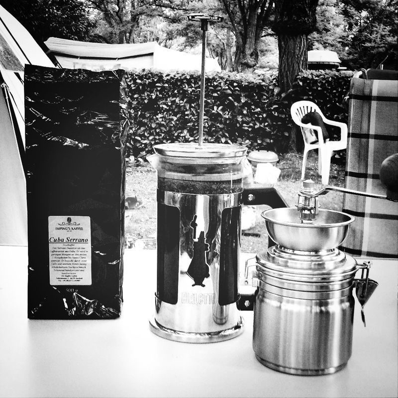 Kitchen Utensils French Press Coffee Time Camping