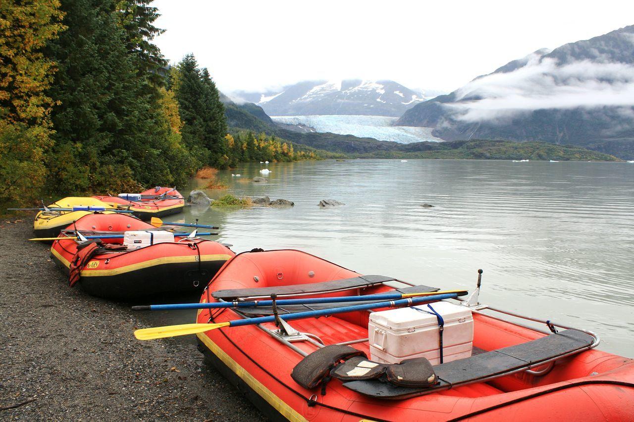 Beautiful stock photos of alaska,  Beauty In Nature,  Day,  Horizontal Image,  Inflatable Raft