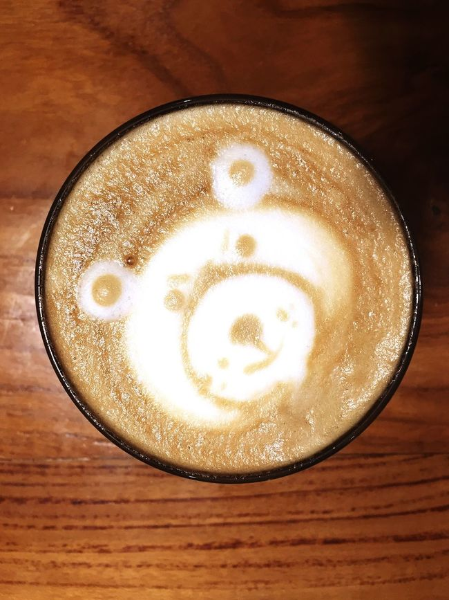 When a bear comes up on your coffee Hanging Out