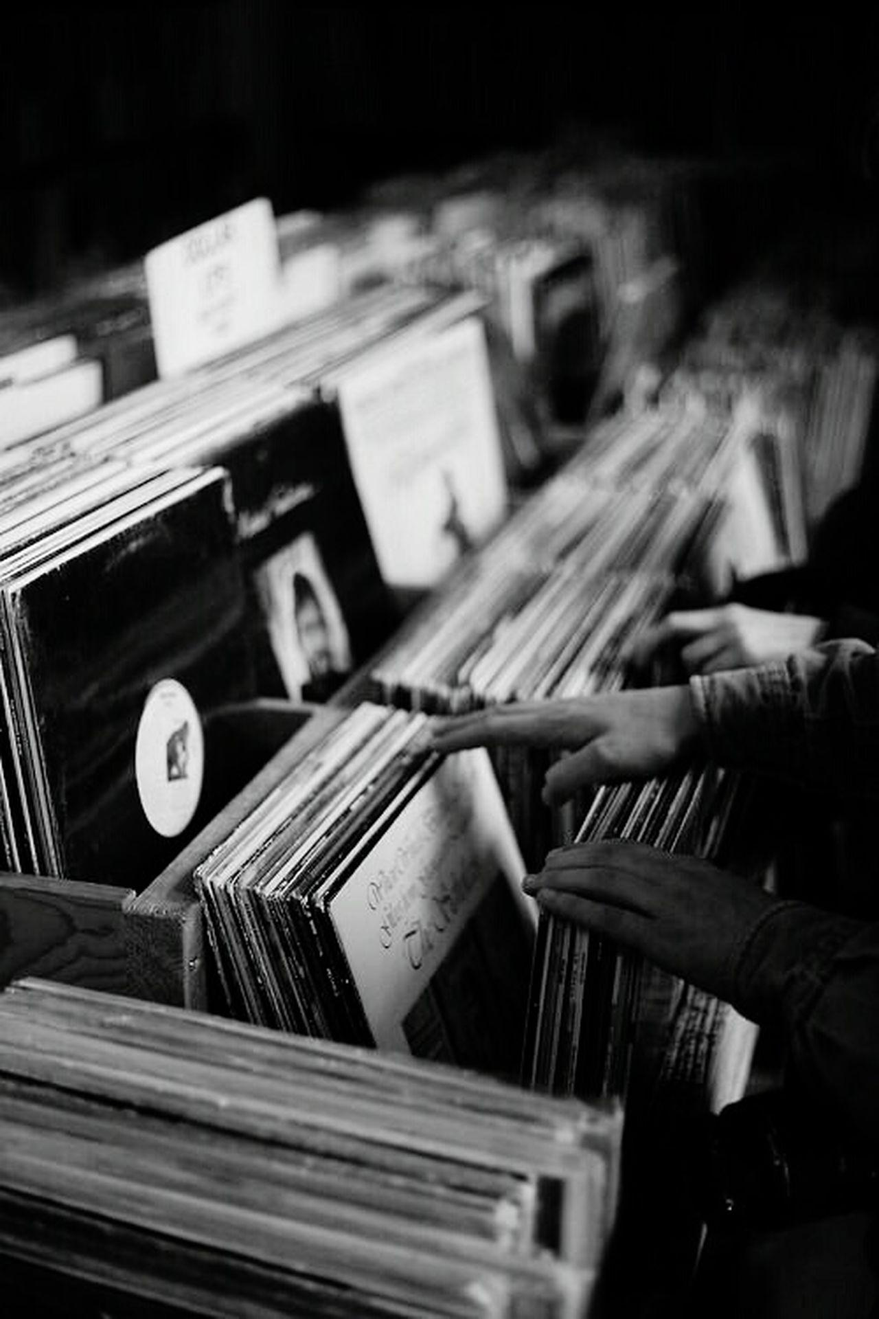 Vinyl Music B&w Records