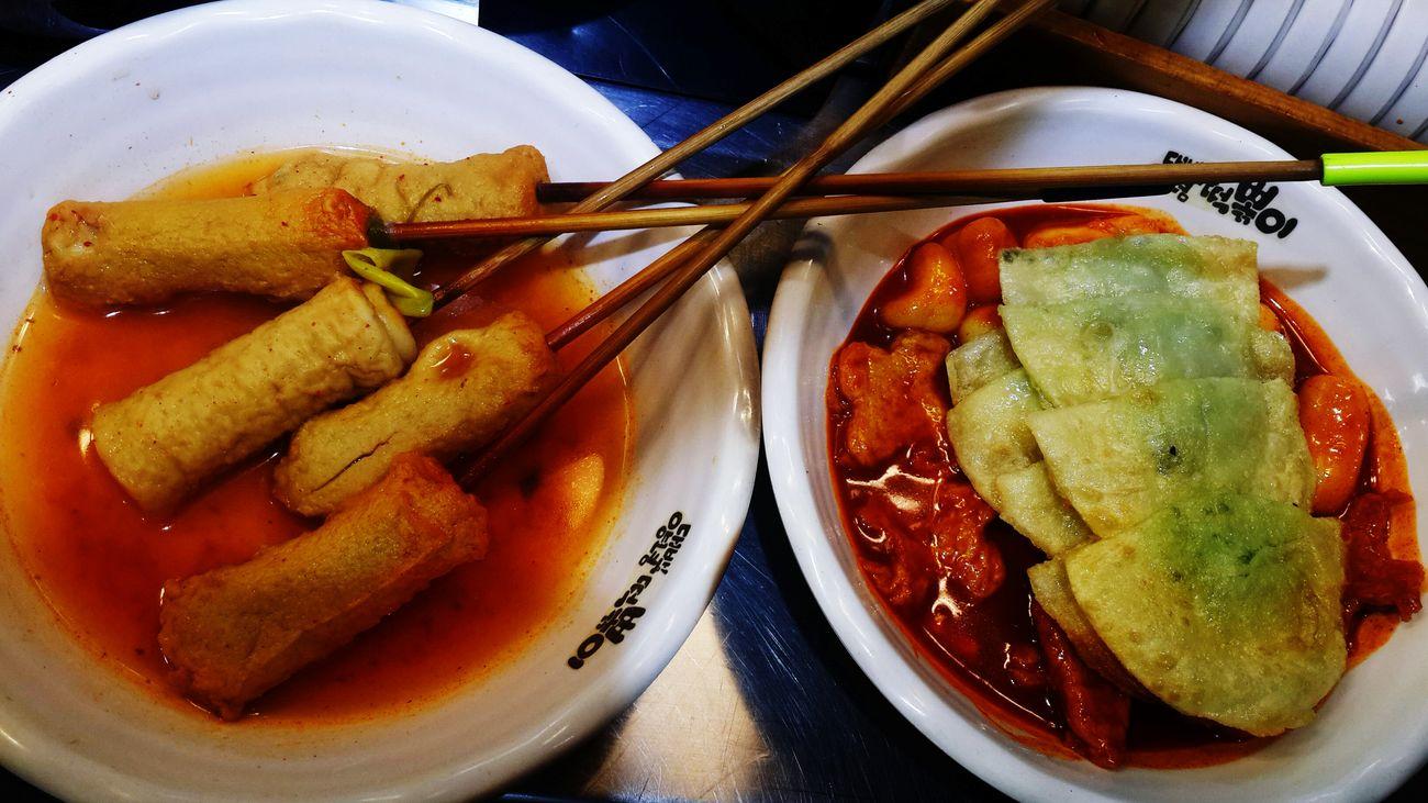 대구 떡볶이 냠냠 동성로 Korean Food 납작만두