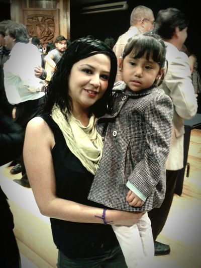Te conocí desde la panzita de tu mami Mi Mundo  UNAM !!!