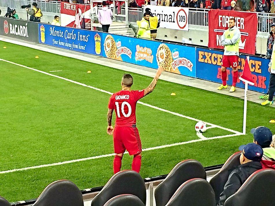 Toronto FC Stadium Giovinco Football Soccer Grass Toronto Red Italian
