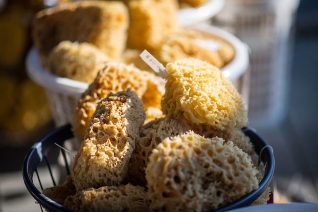 Sponge Sponges Tarponsprings Spongedocks Store Display Forsale Basket Highlight Taking Photos Check This Out Enjoying Life