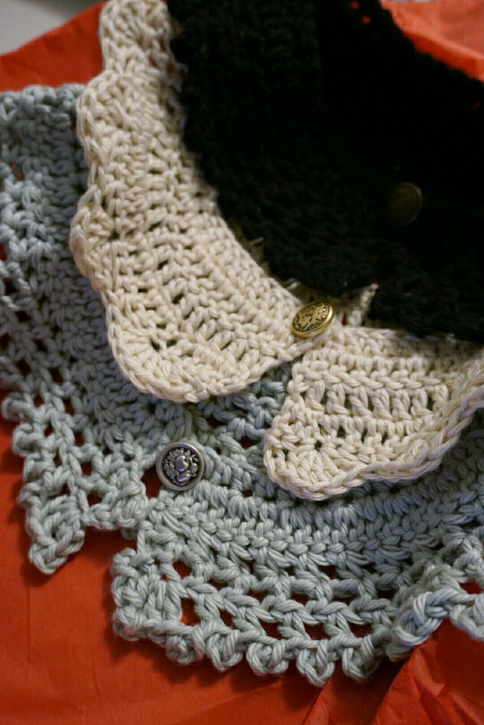 Christmas Friendsmas Gift Present Crafts Crochet Collars