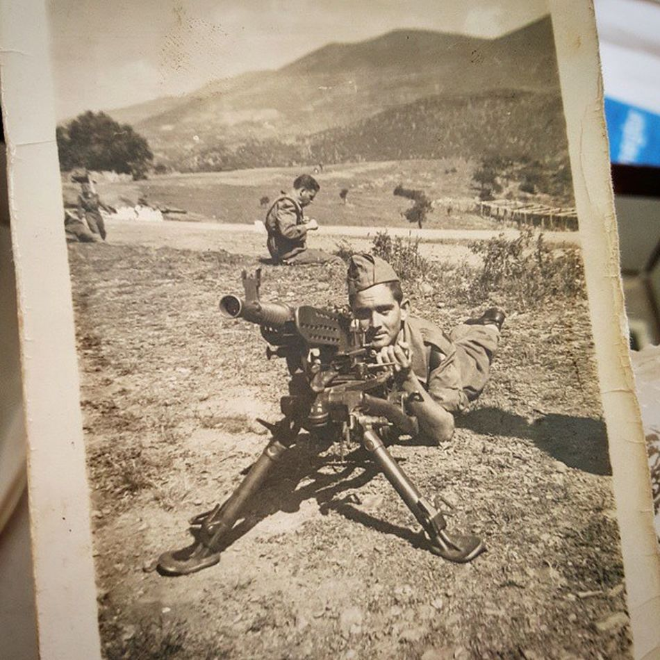 Past Warrior War Army Ametralladora Mg37