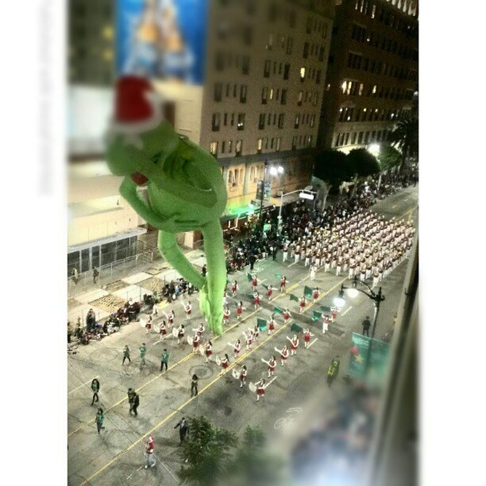 Kermie !!! Hollywood Christmas Parade