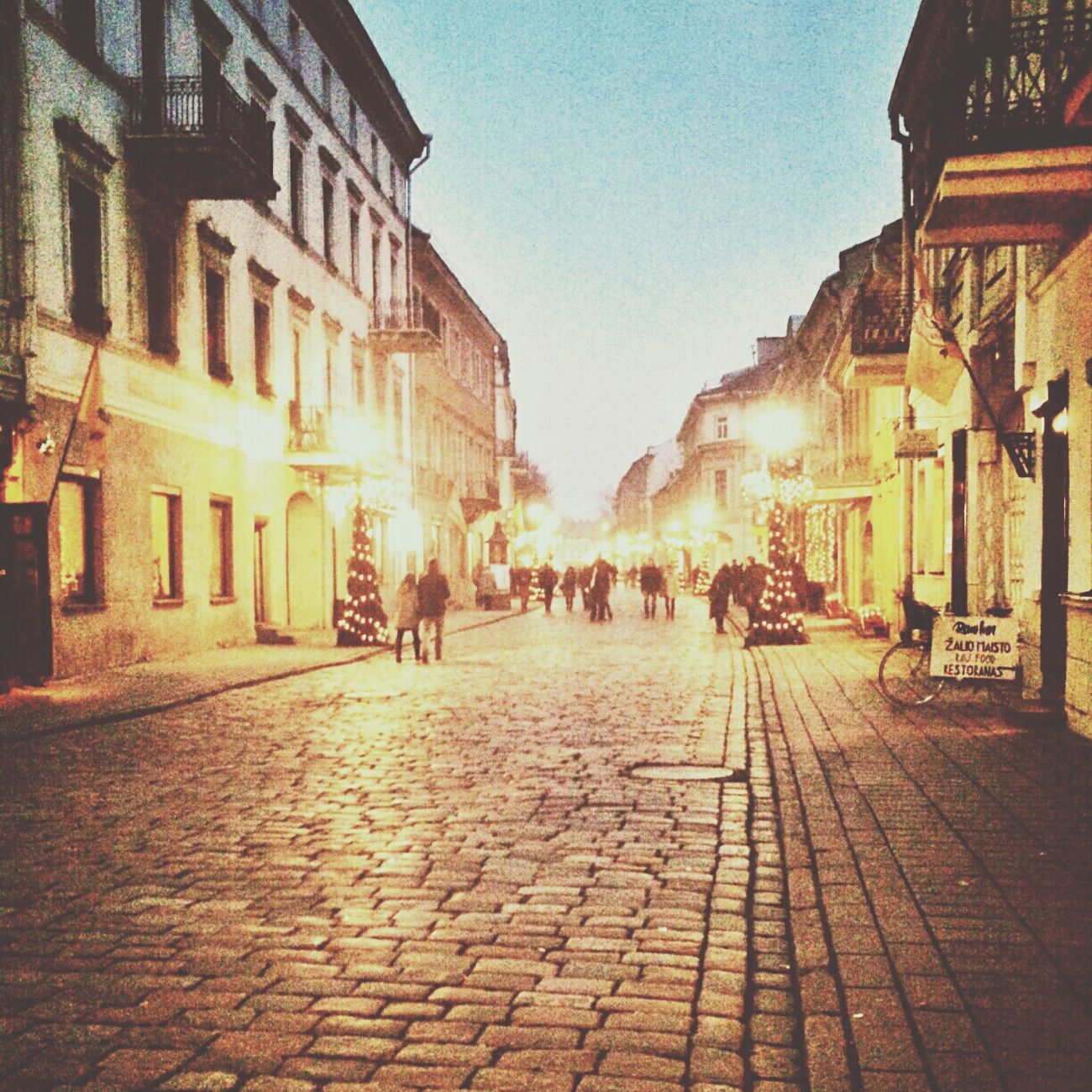 Senamiestis (oldtown) Streetphotography Evening