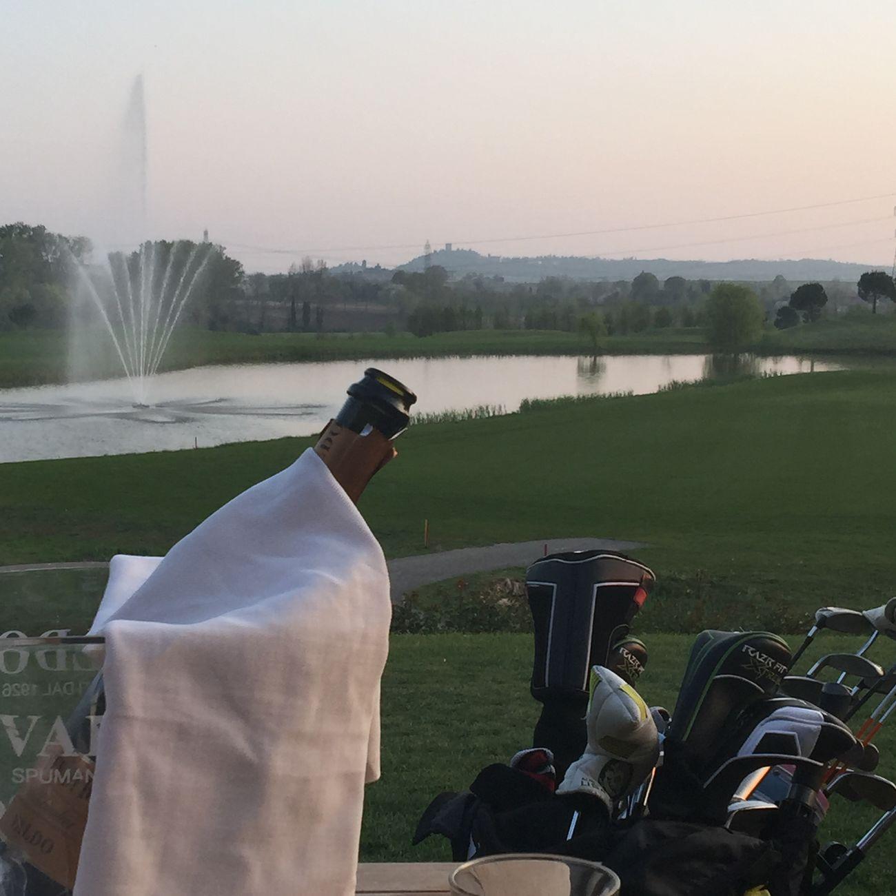 Golf ⛳ GardaGolf 2ndHole Italy Golfcourse