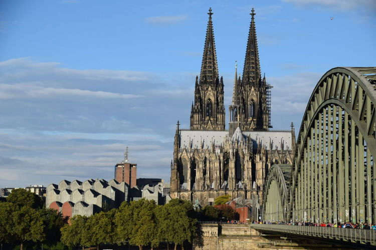 Religion Cathedral Architecture City Sky Tourism Cologne Culture History Famous Place Church Köln Kölner Dom Kölner Dom Cathedral Kölnerdom Dom Kirche Kathedrale Rhine Rhein Bridge Brücke Nikon D5300 NIKON D5300