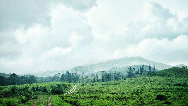 Kudremukh Jeep Safari Monsoon Landscape Landscape #Nature #photography Kudremukha