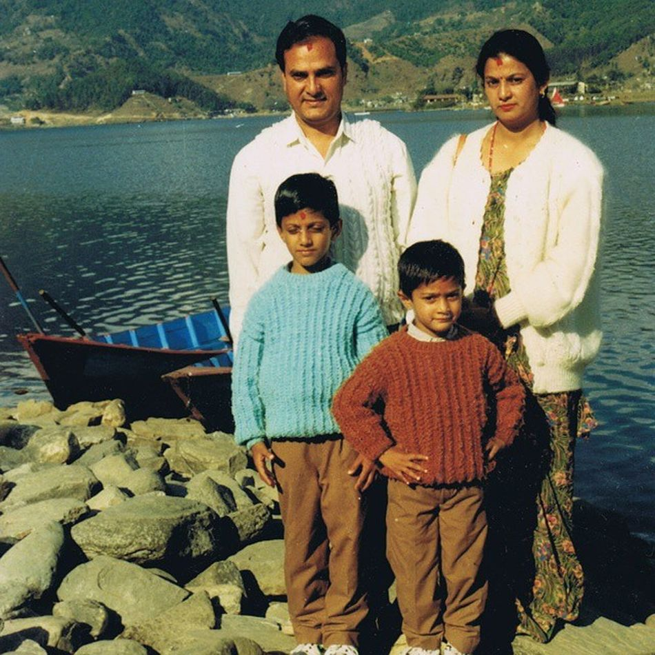 If only I could go back but then again it wouldn't be this nostalgic . Family Matchingsweater :'(