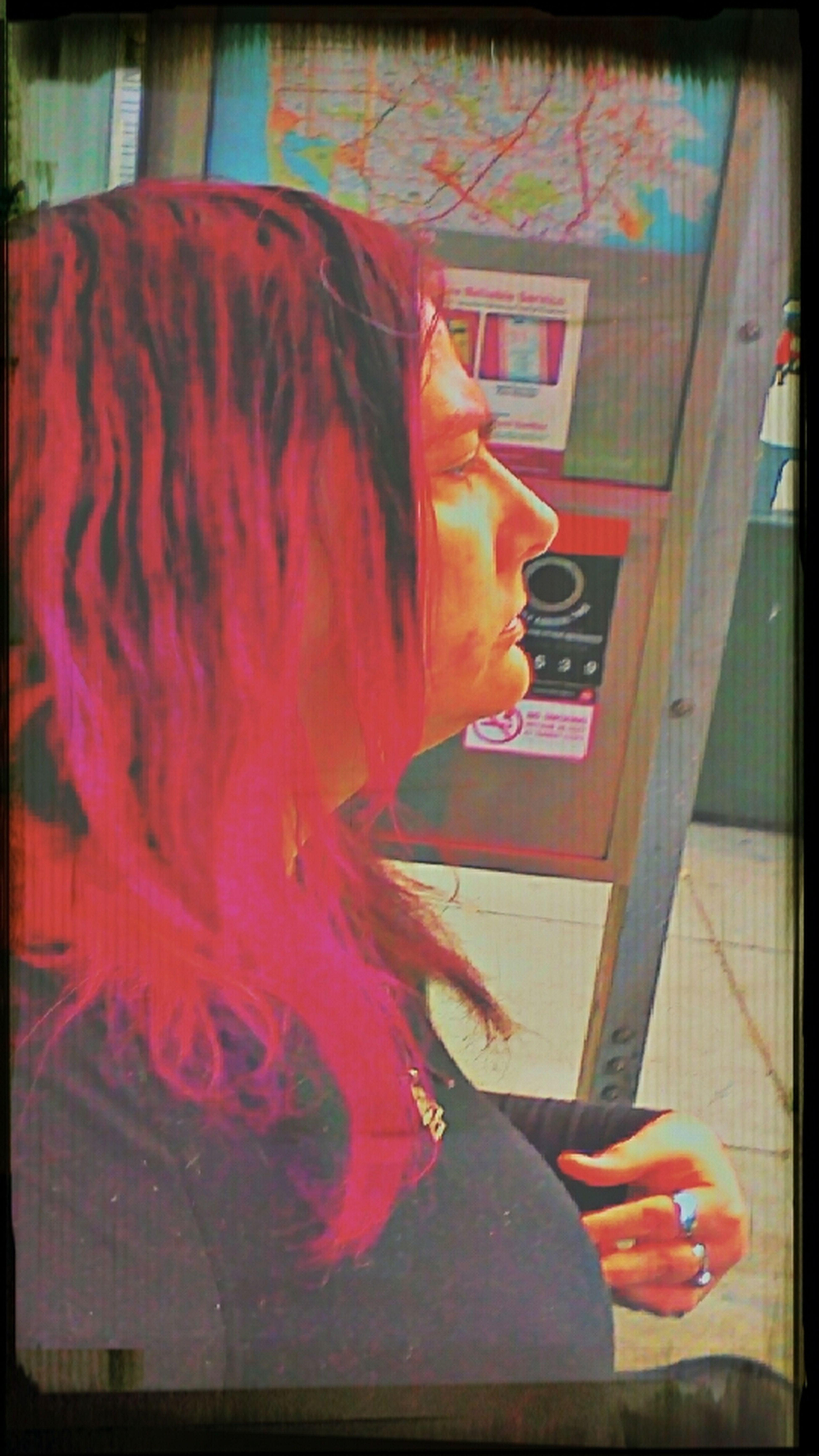 Bus stop rat bag...ha ha, charade I am Frisco