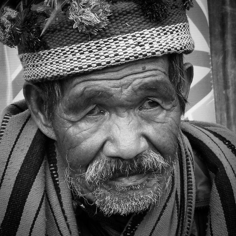 Igorot Banaue Portrait Taking Photos Blackandwhite Photography FujiFilm X20 Travel Photography Monochrome