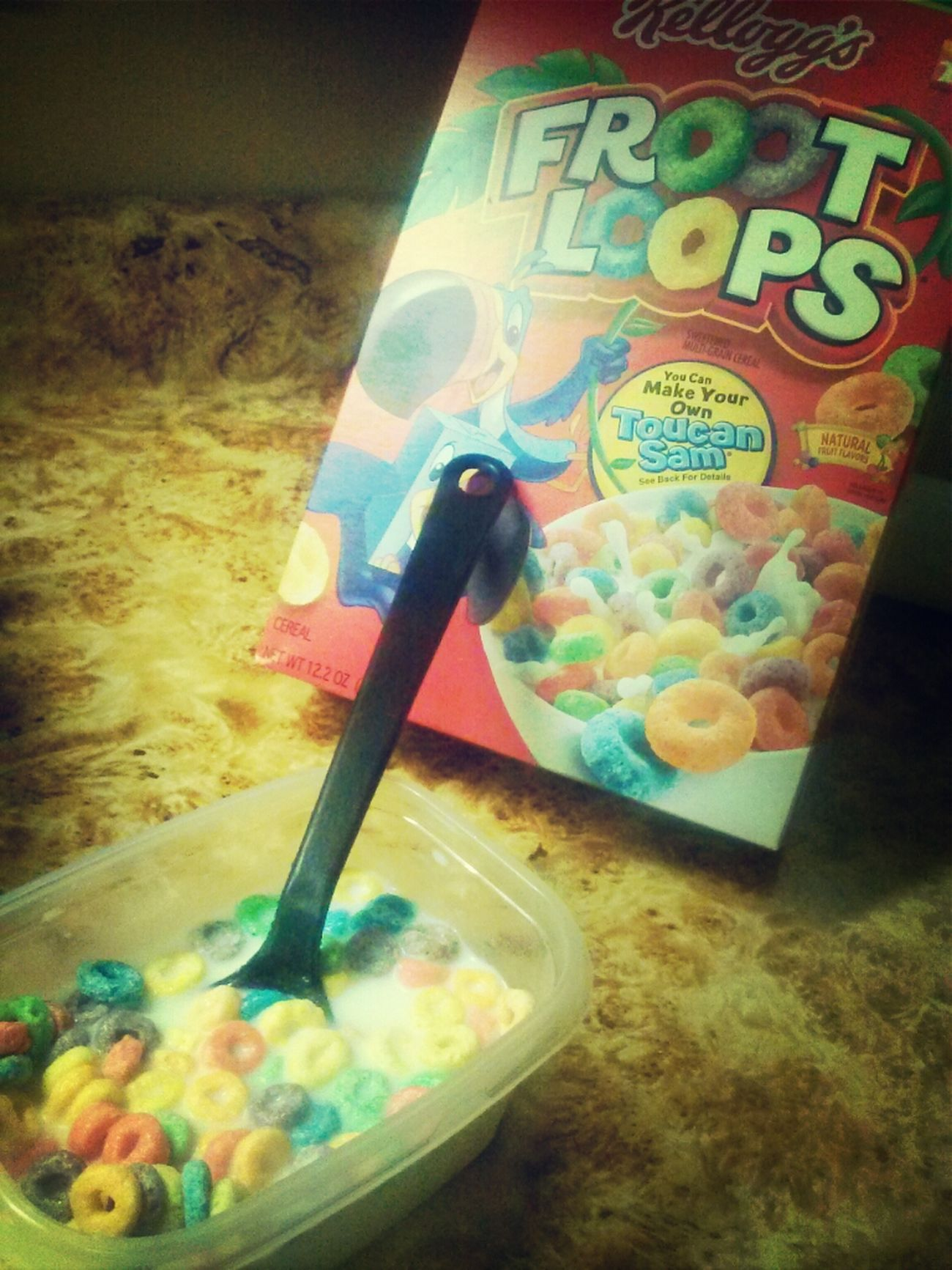Breakfast Froot Loops Coolaid Spoon