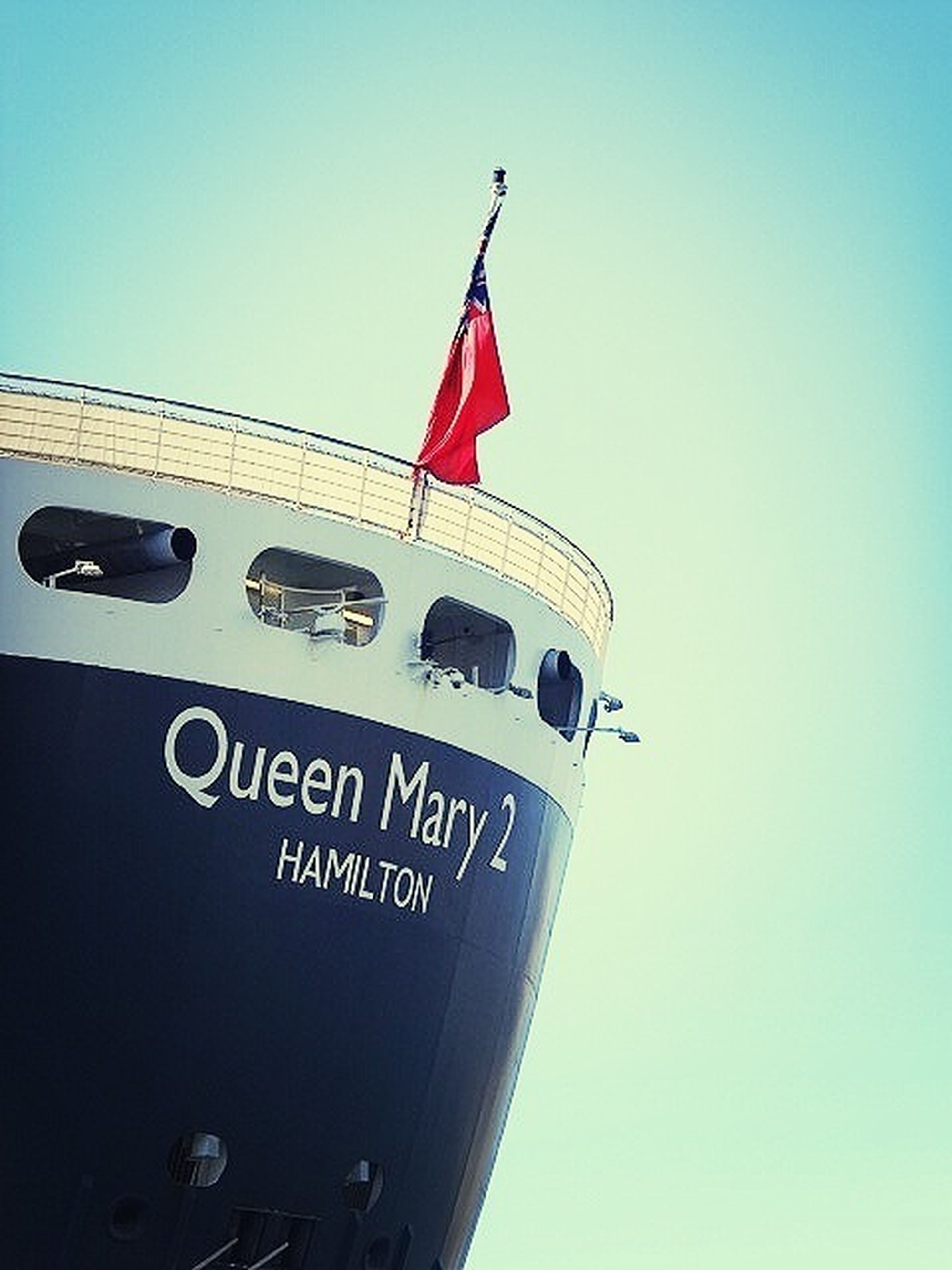 Queen Mary II at Sydney Harbour