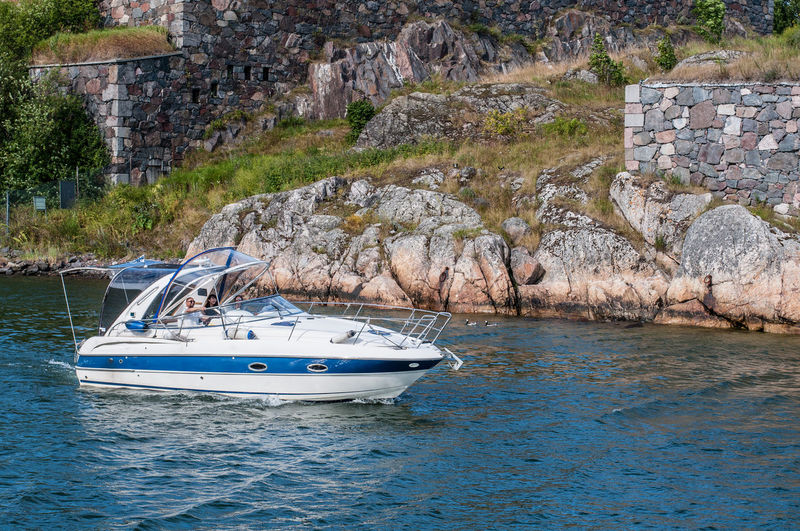In to the sea Boating Positive Summertime Day Go Boating Good Mood Happy Time Nature Nautical Vessel No People Outdoors Sea Still Life Transportation Water Yacht