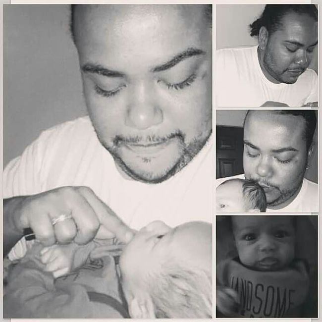 Father And Son Me And My Daddy  Daddysboy Blexican Love Daddysshadow Family Photography